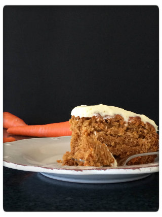 Honey and Carrot Cake