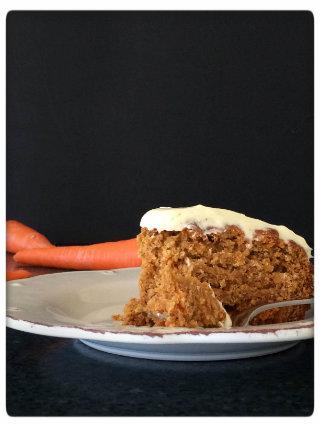 Honey and Carrot Cake