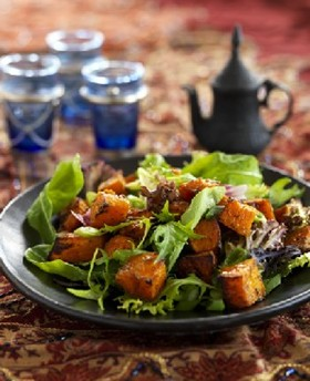 Moroccan Salad with Honey Cumin Dressing