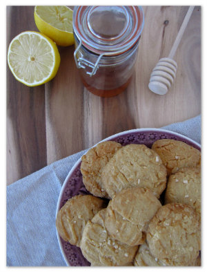 Mossop's Honey Lemon Shortbread