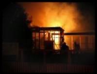 Mossops shop fire